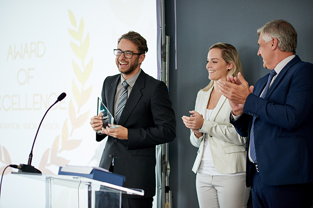 Boost your business exposure - WIN a business award.
